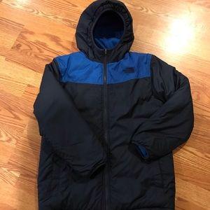 Boys North Face Jacket reversible